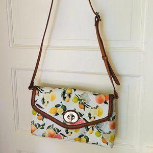 Aldo Fruit Print Crossbody Bag
